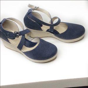BOC Bree denim wedge espadrilles Shoes 10